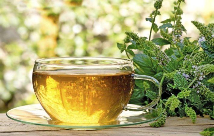 Травяной чай при проблемной жирной коже