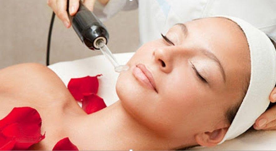 Уход за кожей лица - Дарсонвализация - лечебная процедура применения импульсного тока малой силы и высокой частоты