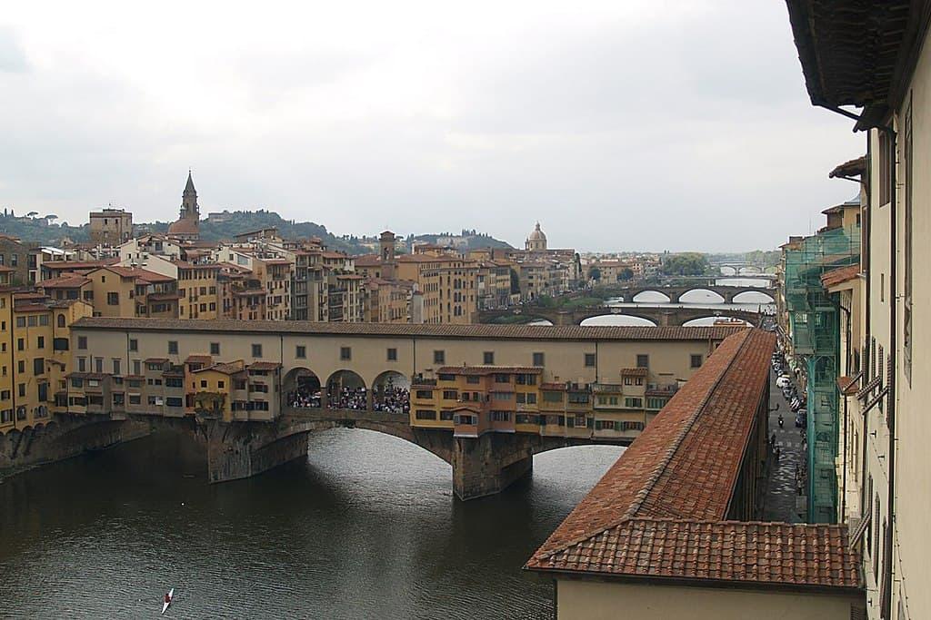 Коридор Вазари Флоренция Италия