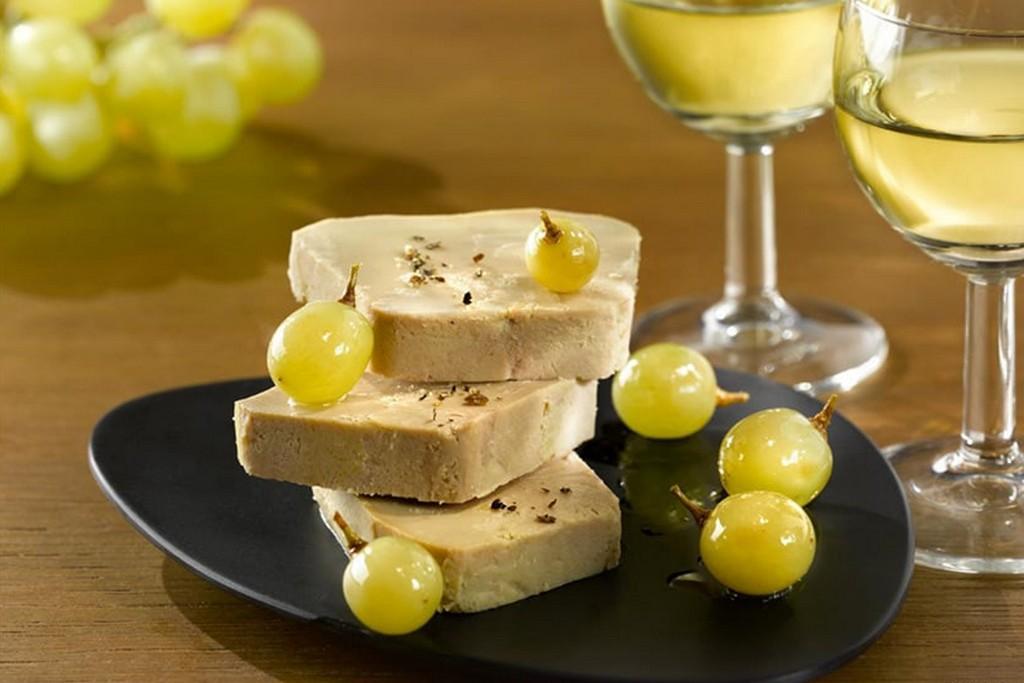 Сочетание foie gras с белым Сотерном