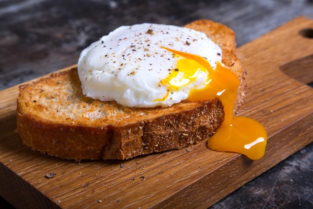 Яйцо пашот в Париже