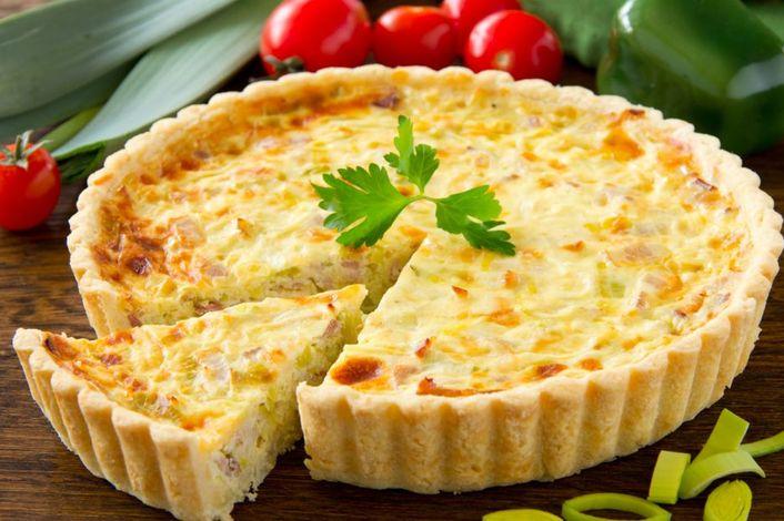 Французский открытый пирог – Киш