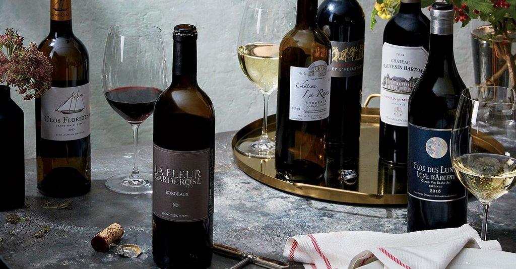 Французские вина региона Бордо