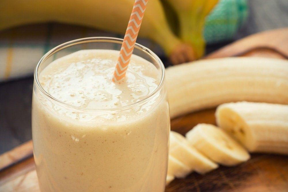 Кефирно-банановый напиток