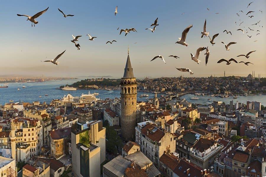Галатская башня, Стамбул