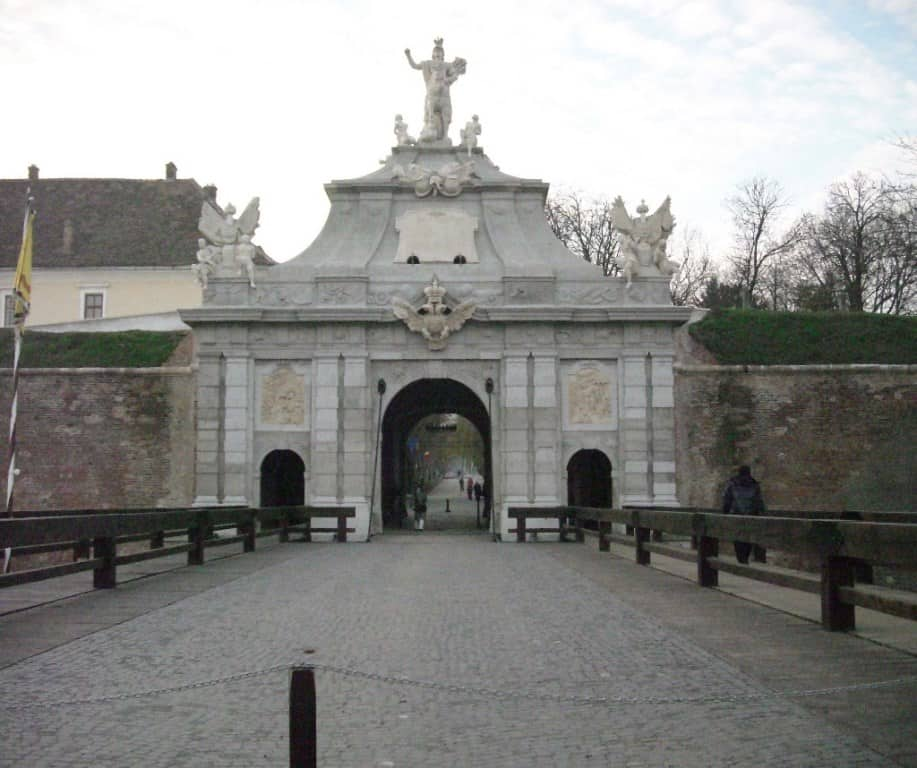 Ворота в крепость Алба Юлия