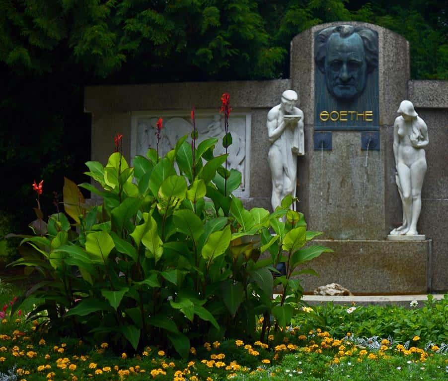 Памятник Гёте в Франтишковых Лазнях