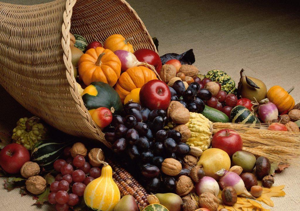 Овощи и фрукты для ЗОЖ
