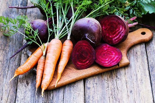 Морковь и свекла для ЗОЖ