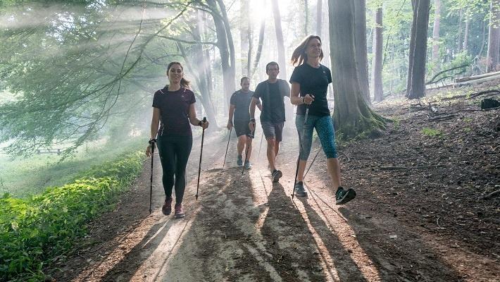 Скандинавская ходьба Здоровый образ жизни