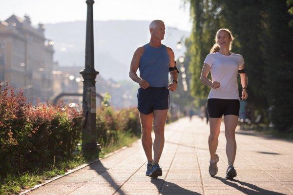 Бег трусцой Здоровый образ жизни