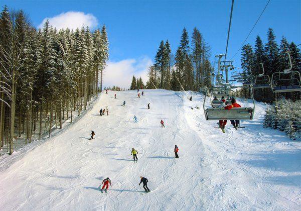 Горные лыжи Здоровый образ жизни
