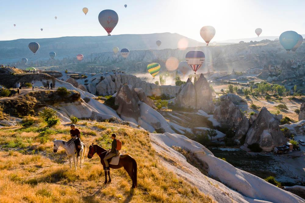 Каппадокия переводится как «страна прекрасных лошадей»