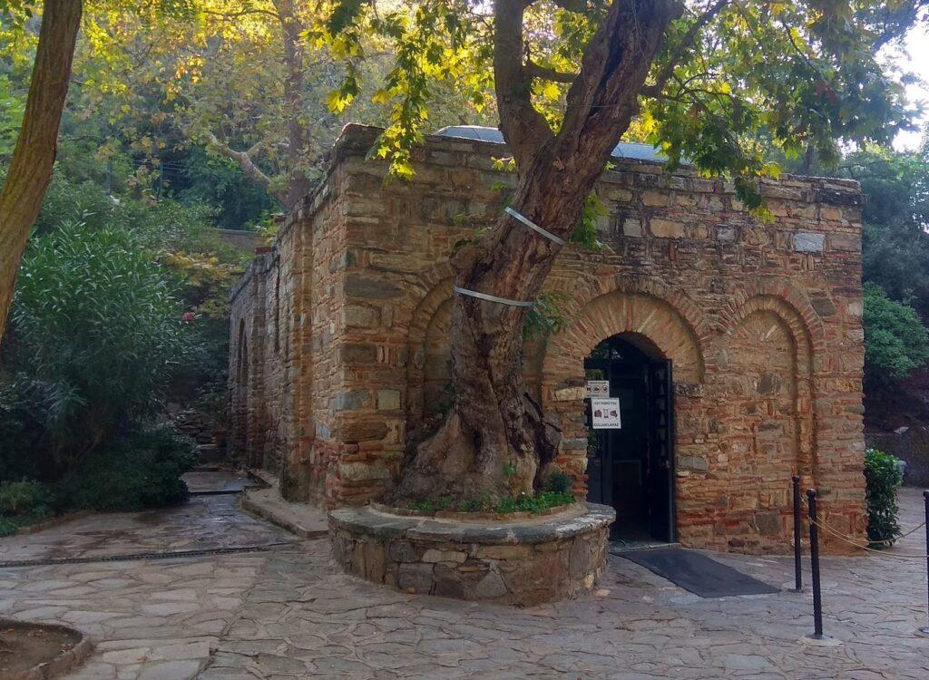 Дом Богородицы в Эфесе - Древний город Эфес Турция