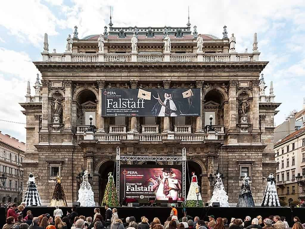 Венгерский государственный оперный театр Будапешт (Венгрия)