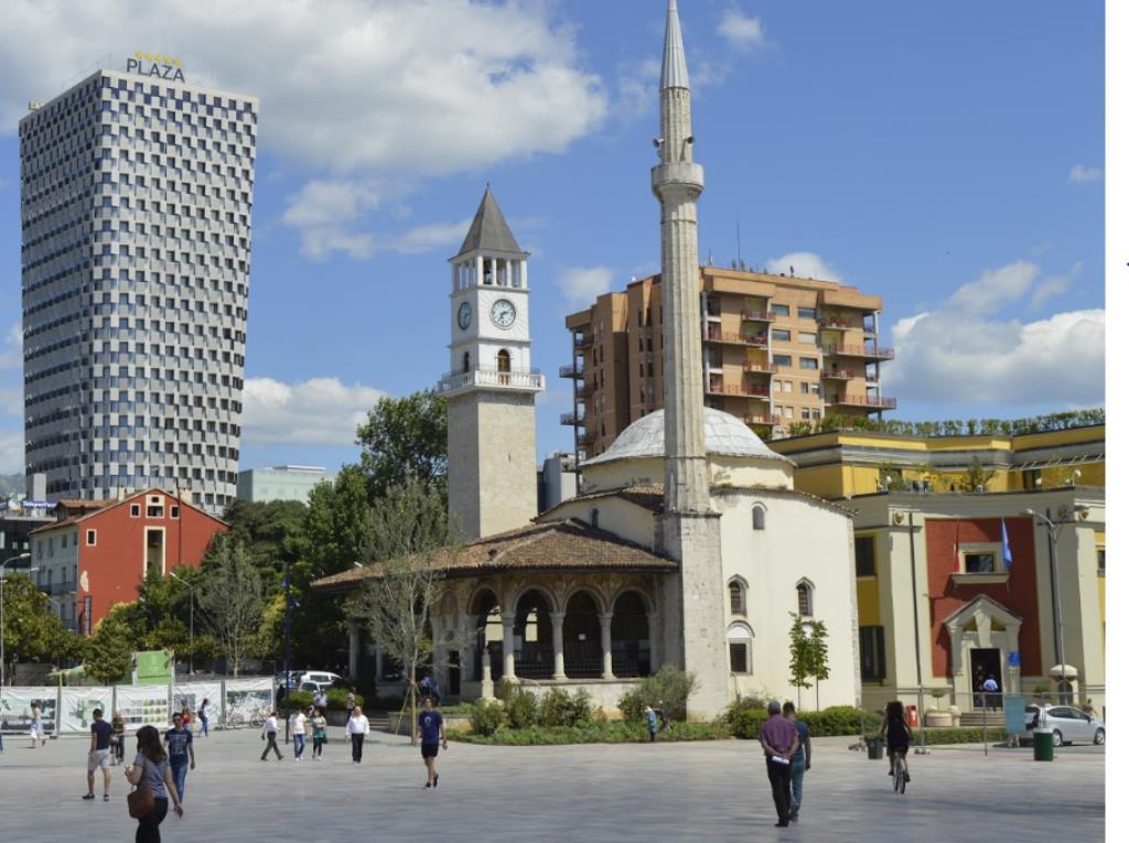 Мечеть Этхем Бей, Тирана
