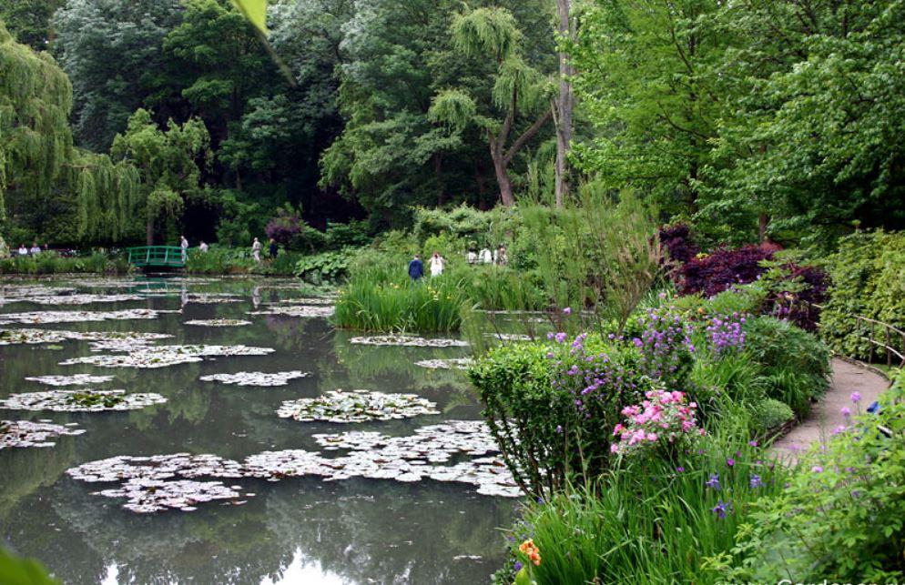 Водный сад Клода Моне