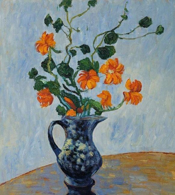 «Капуцины в синей вазе», Клод Моне, 1879г.