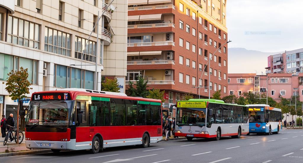 Городской транспорт Тираны