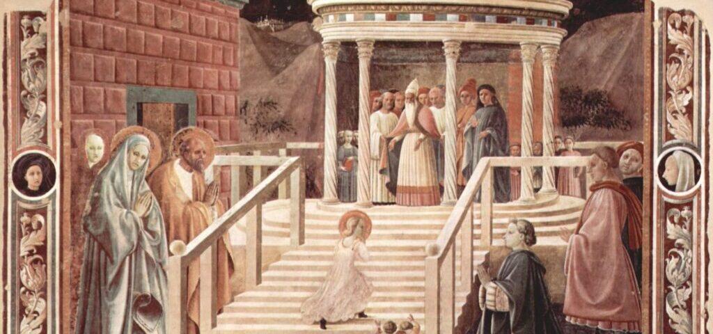 Введение Марии в Храм