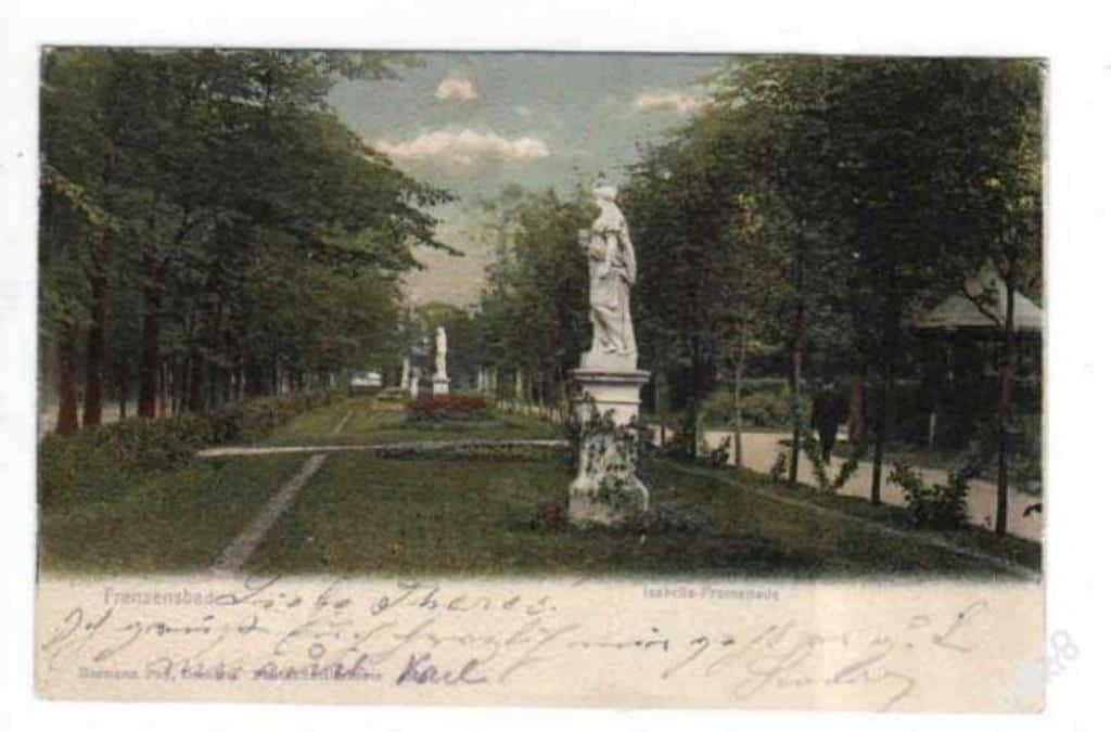 Променад Изабеллы, открытка 1904 года
