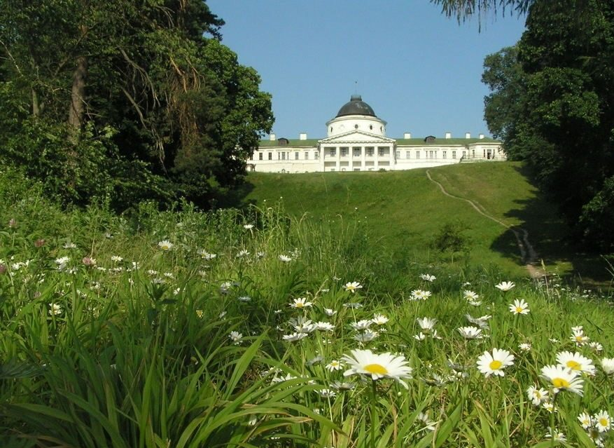 Вид со става Майорский на Качановский дворец