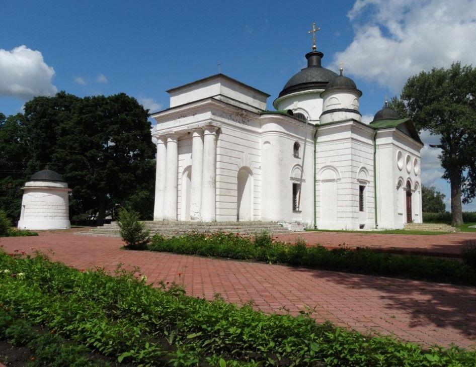 Георгиевская церковь, Качановка