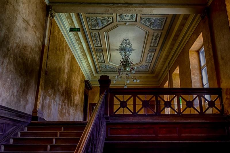 Парадная лестницав Качановском дворце