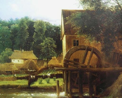 Водяная мельница в Качановке