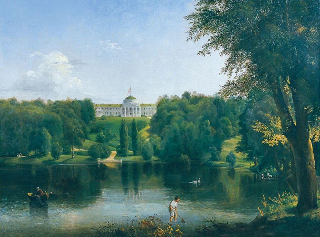«Усадьба Г. С. Тарновского в Качановке», 1837 (Штернберг, Василий Иванович (1818–1845))