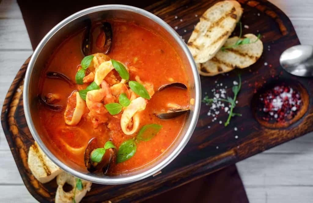 Каччукко – итальянский суп