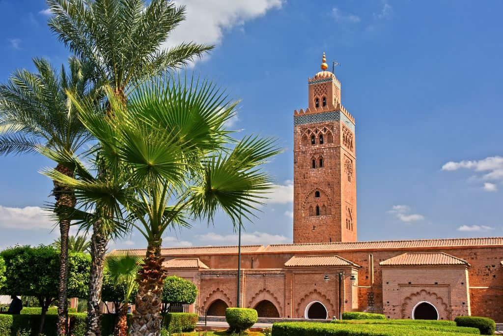 Мечеть Кутубия Марокко