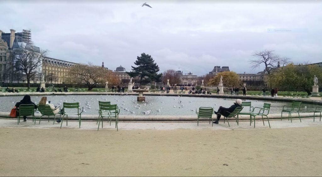 Сад Тюильри (le jardin des Tuileries), Париж - интересные достопримечательности