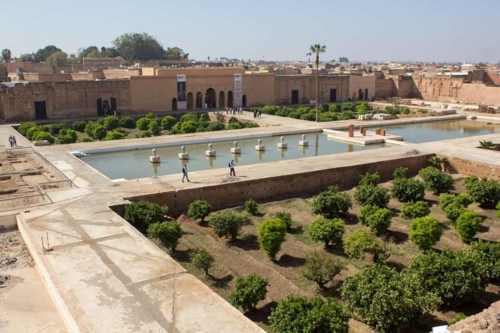 Дворец Эль-Бади (Le palais El Badi)