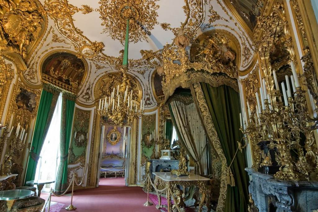 Приёмный кабинет Людвига II, Линдерхоф