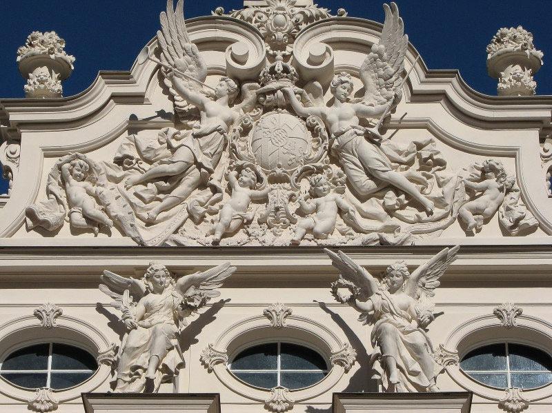 Фасад дворца Линдерхоф