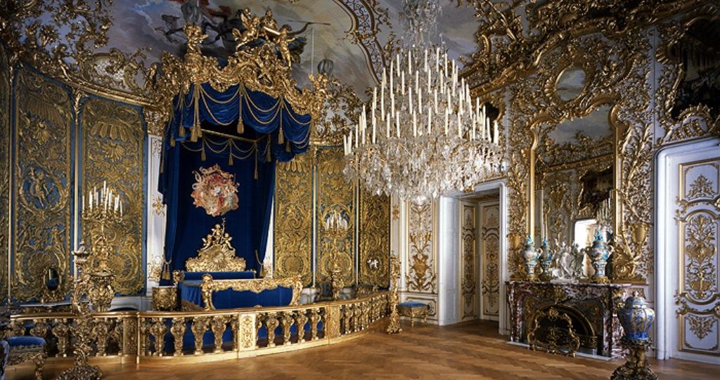 Спальня короля. Линдерхоф Германия