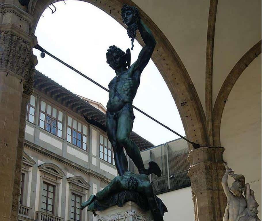 Персей с головой Медузы - Бенвенуто Челлини