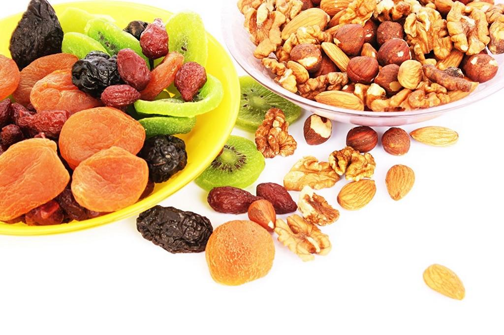 Фрукты и орехи – низкоуглеводная диета
