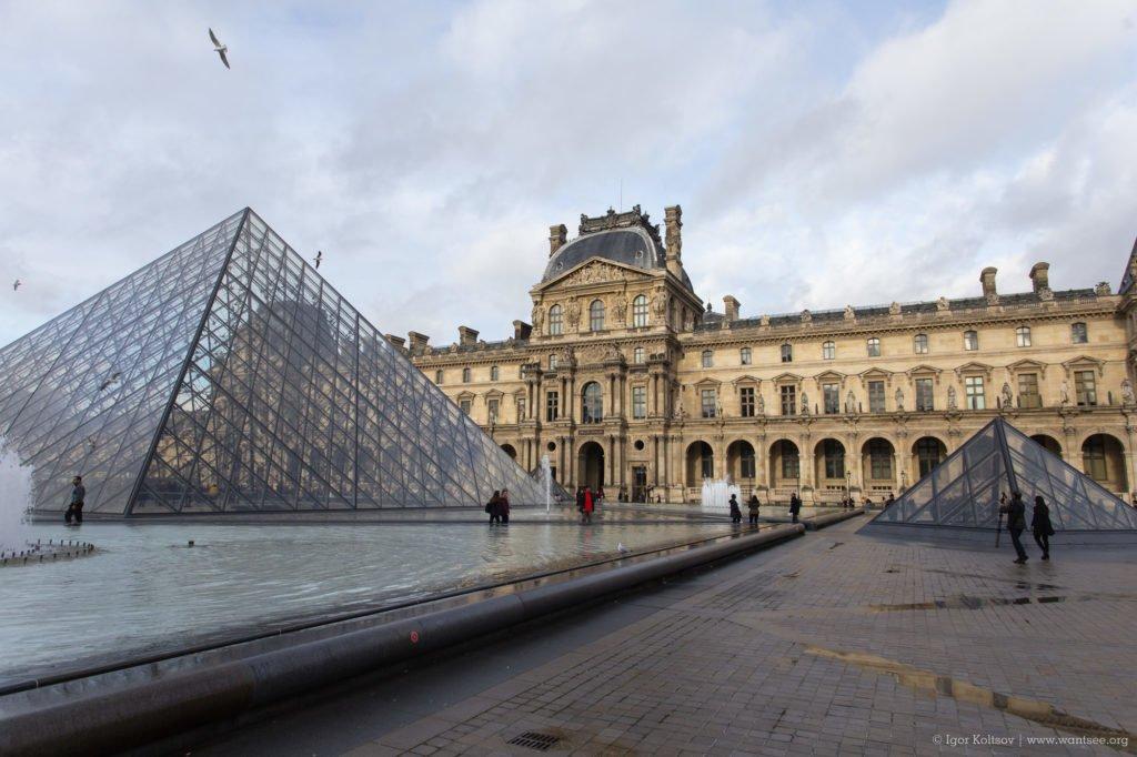 Музей Лувра (Musée du Louvre), Париж - интересные достопримечательности