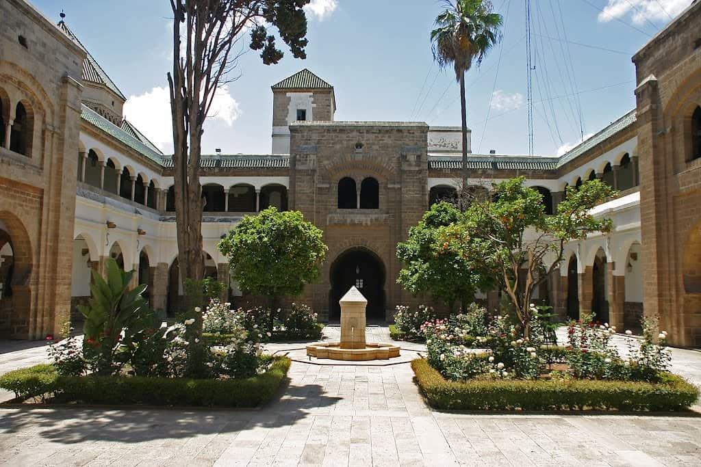 Дворец Махкама-дю-Паша Марокко