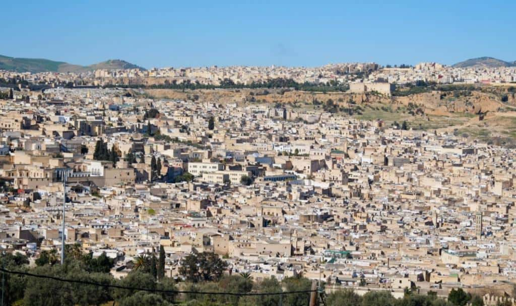 Медина в городе Фес, Марокко