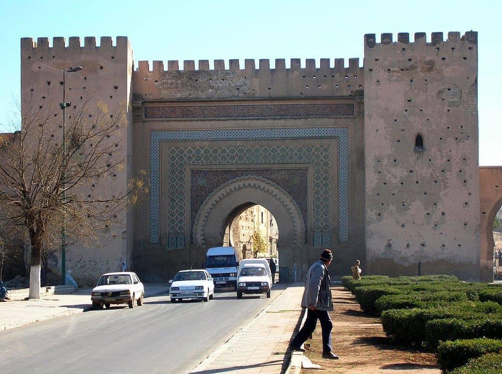 Городские ворота Мекнеса Марокко