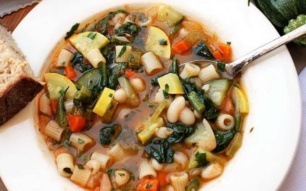 Суп овощной – Минестроне
