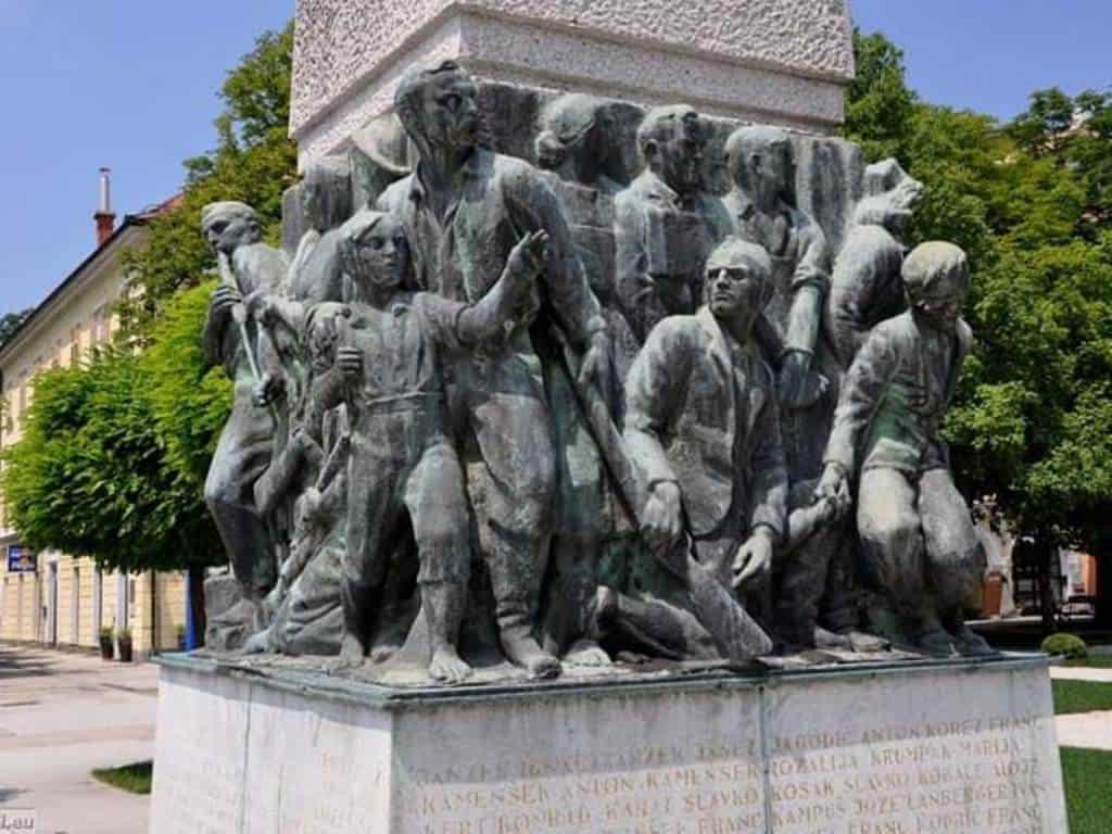 Памятник павшим в национально-освободительной борьбе (1941-1945)