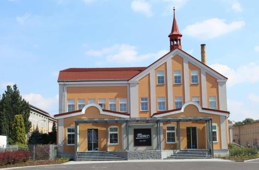 Музей стекла Мозер (Moser)
