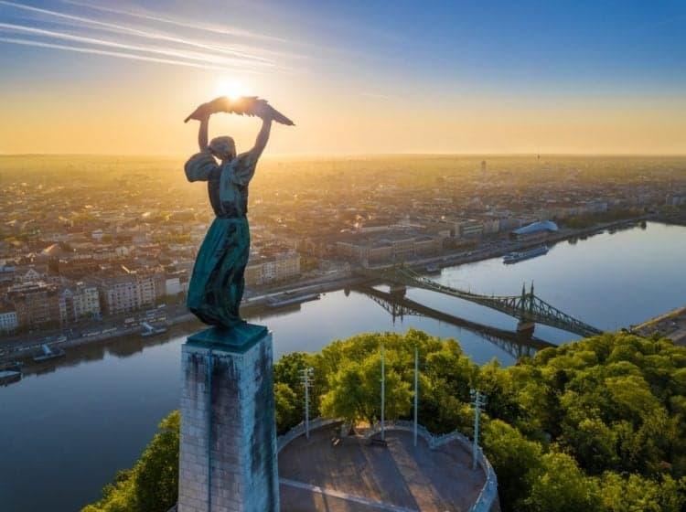 Гора Геллерт Статуя Свободы gellert-mount