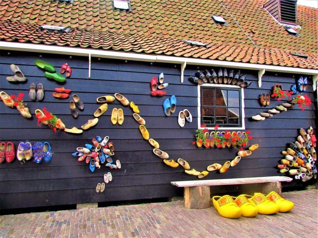 Музей кломпов - Заансе Сханс Амстердам Нидерланды