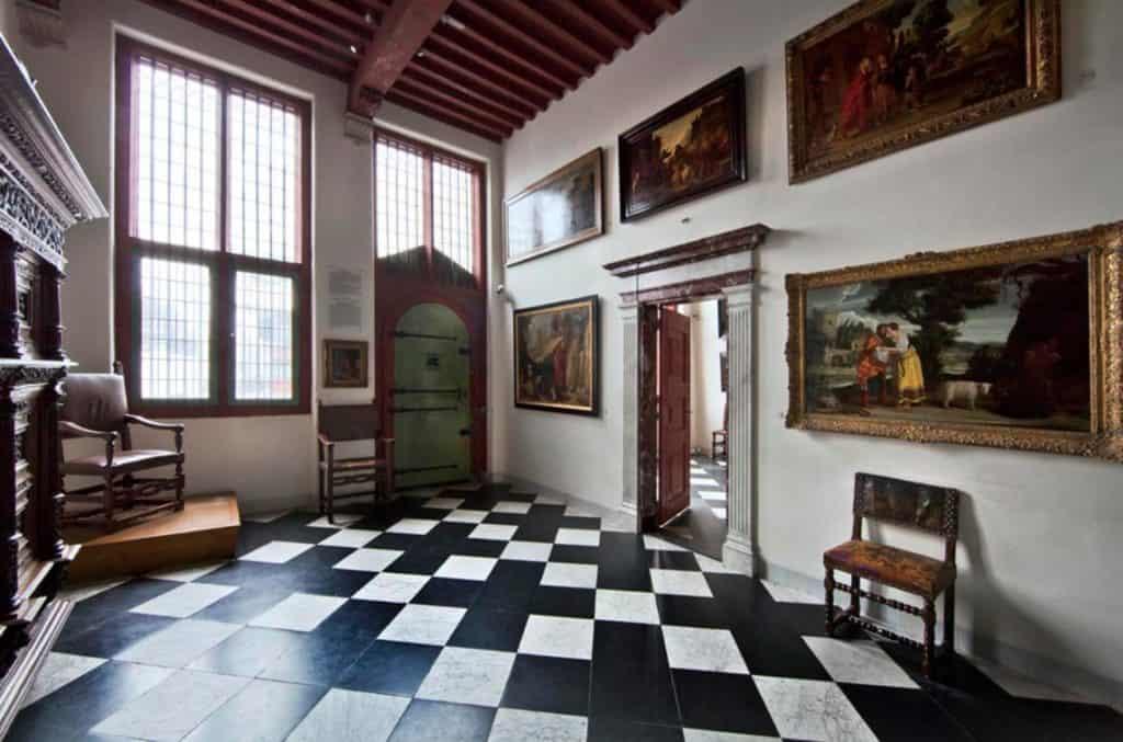 Museum-Het-Rembrandthuis Амстердам музеи