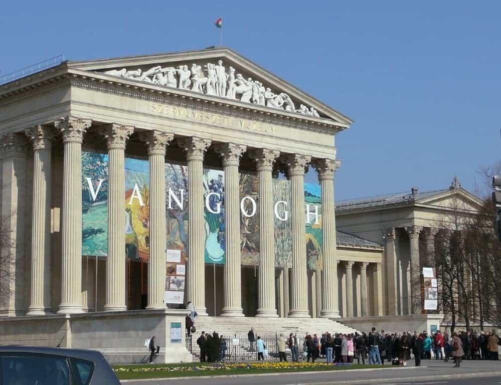 Музей изобразительных искусств Будапешт (Венгрия)
